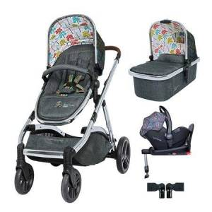 Cosatto CT4528 Wow XL Travel System I-Size Bundle Nordik