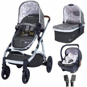Cosatto CT4424 Wow XL Travel System Bundle (3 pcs) Hedgerow
