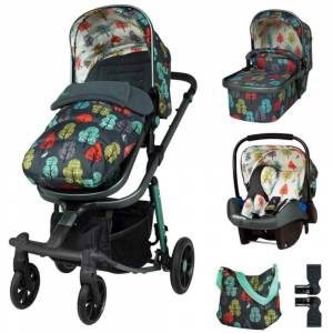 Cosatto CT4312 Giggle Quad Marvellous Bundle (5 pcs Exc Base) Harewood
