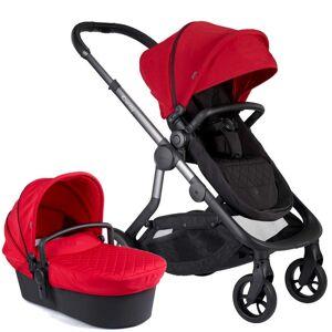 iCandy Orange Pushchair & Carrycot Combo Bundle Magma