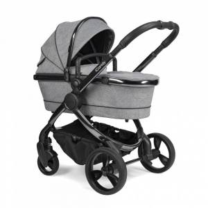 iCandy IC2222 Peach Pushchair and Carrycot Phantom Light Grey Check
