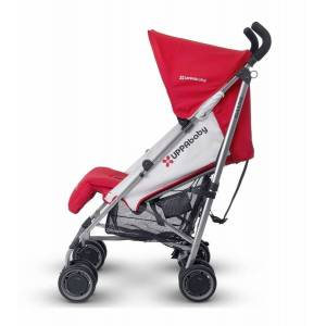 Uppababy G-LUXE Stroller Denny Red & Silver