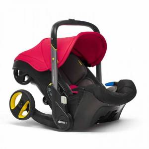 Cuddleco Doona+ Infant Car Seat Stroller Flame Red