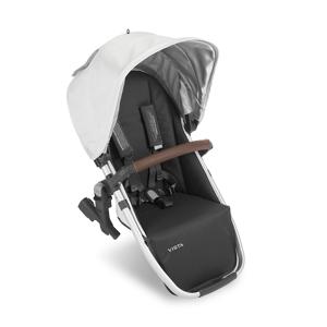 Uppababy 0918-RBS-UK-BRY Vista Rumble Seat Bryce (White Marl)