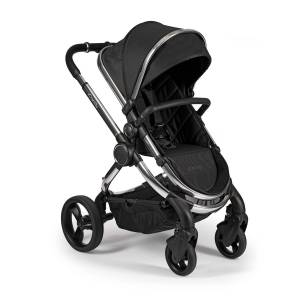 iCandy IC2236 Peach Pushchair and Carrycot - Chrome Black Twill