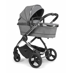 iCandy IC2218  Peach Pushchair and Carrycot - Chrome Light Grey Check