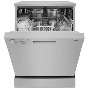 Beko DFN05310S 13 Place Freestanding Dishwasher With Quick Wash - Silver