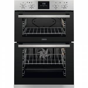 Zanussi ZOA35660XK Built In Electric Double Oven - Stainless Steel