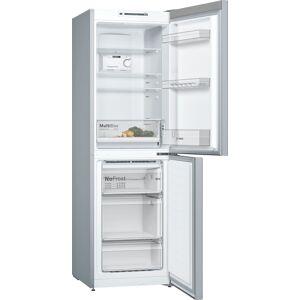 Bosch KGN34NLEAG Freestanding No Frost Fridge Freezer-Inox