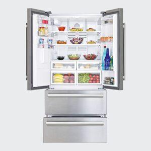 Beko GNE60520DX 70/30 Fridge Freezer - Stainless Steel