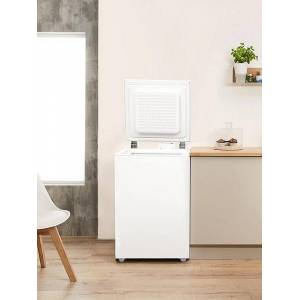 Indesit OS1A100 Freestanding 100L Chest Freezer-White