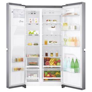 LG GSL480PZXV American Style Fridge Freezer Ice & Water-Stainless Steel