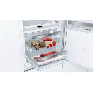 Bosch KIF86PF30 Built-in Fridge-Freezer with freezer at Bottom-No Frost