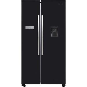 Hisense RS741N4WB11 American Total No Frost Fridge Freezer Black