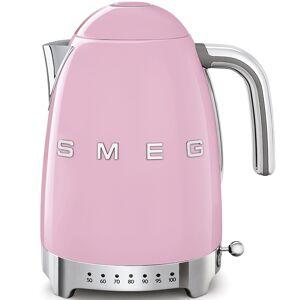 Smeg KLF04PKUK 50's Style Variable Temperature Kettle Pink