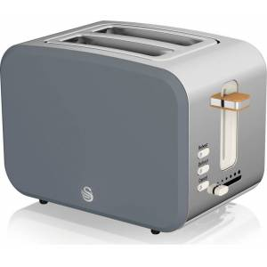 Swan ST14610GRYN 2 Slice Nordic Toaster-Grey