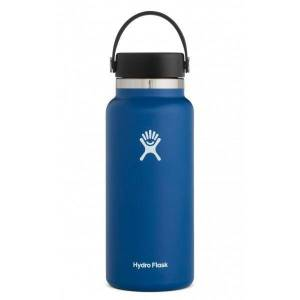 Hydro Flask Wide Mouth Bottle 0.94L  - Stainless Steel BPA free, Cobalt