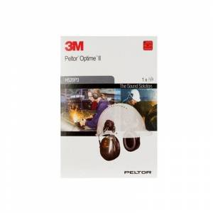 3M PELTOR Optime II Ear Defenders, 30 dB, Green, Helmet Mounted attachment, H520P3E-410-GQ