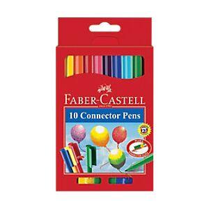 Faber-Castell Felt Tip Pens 155510 3 mm Assorted 10 Pieces