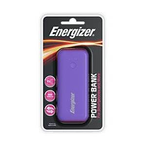 Energizer Power Bank UE5007 5000mAh Purple, Magenta