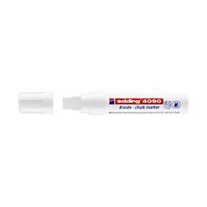 edding Chalk Marker 4090 Chisel White