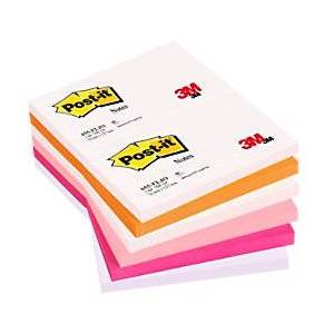 Post-it Sticky Notes 127 x 76 mm Yellow 12 Pieces of 50 Sheets