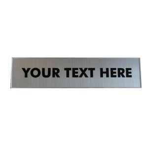 Unbranded Sign Bespoke Acrylic 19 x 4.5 cm