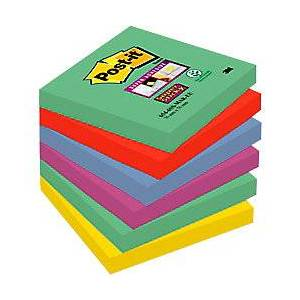 Post-it Super Sticky Notes 76 x 76 mm Marrakesh 6 Pieces of 90 Sheets