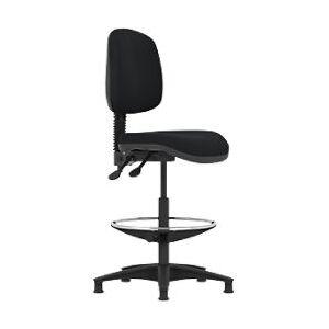 Pledge Draughtsman Chair TWO01/DM Black