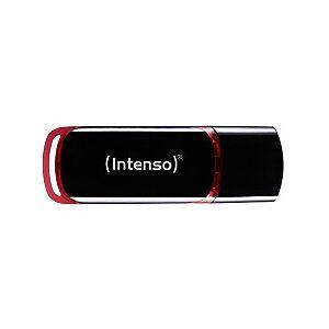Intenso USB 2.0 Flash Drive Business Line 16 GB Black, Red