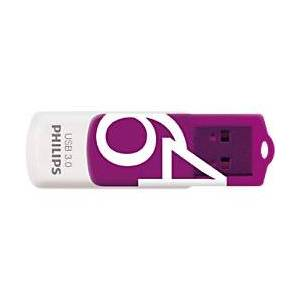 Philips USB 3.0 Flash Drive Vivid Edition 64 GB Purple