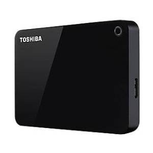 Toshiba 1 TB External Portable Hard Drive Canvio Advance USB 3.0 Black
