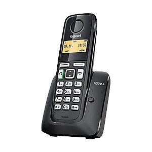 Siemens Gigaset A220A Cordless Telephone Black
