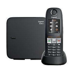 Siemens Gigaset E630A GO Cordless Telephone Black