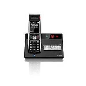 Diverse 7450 R Cordless Telephone Black