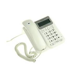 Decor 2200 Corded Telephone White