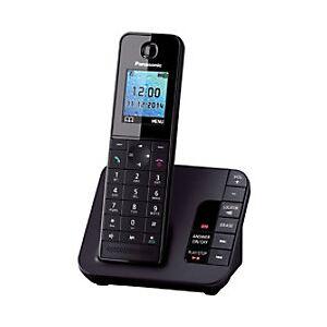 Panasonic KX-TGH220EB Single Cordless Telephone Black