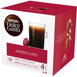 NESCAF Dolce Gusto Americano Coffee Pods 16 Pieces