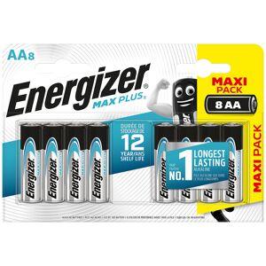 Energizer AA Alkaline Batteries Max Plus LR6 1.5V 8 Pieces