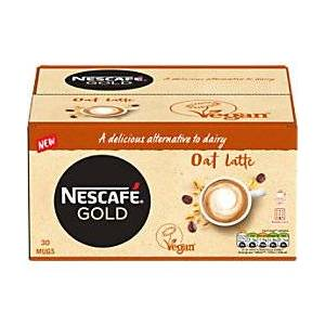 Nescaf Instant Coffee Gold Oat Latte 30 Pieces of 16 g