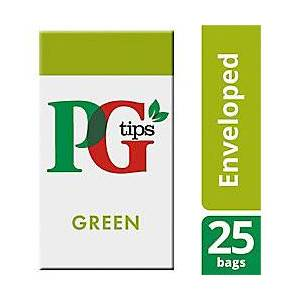 PG tips Green Tea Bags 25 Pieces
