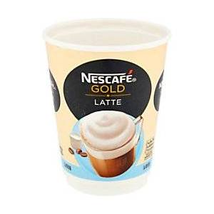 NESCAF� & Go Gold Instant Latte Coffee Cups 8 Pieces