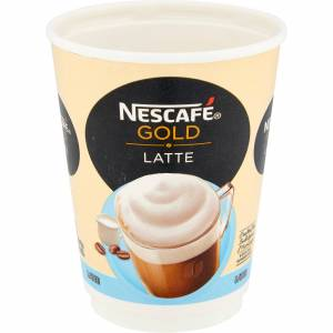 NESCAF & Go Gold Instant Latte Coffee Cups 8 Pieces