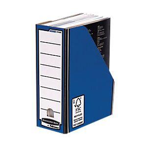 BANKERS BOX Premium Magazine File Blue - Pack of 10