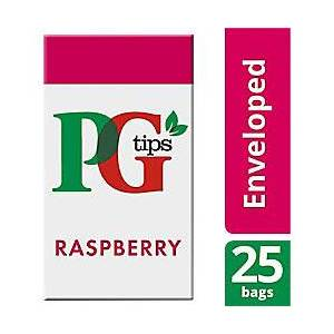 PG tips Raspberry Tea Bags 25 Pieces