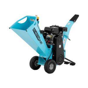 hillvert Petrol Wood Chipper - 7 hp - 80 mm