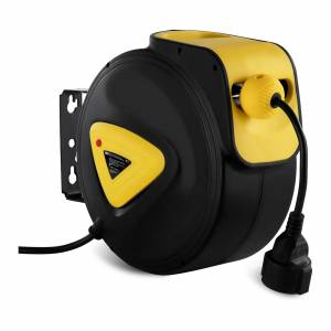MSW Retractable Cable Reel - Automatic - 20 m + 1.5 m