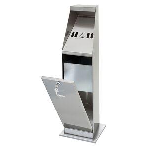Bartscher Standing ashtray - silver