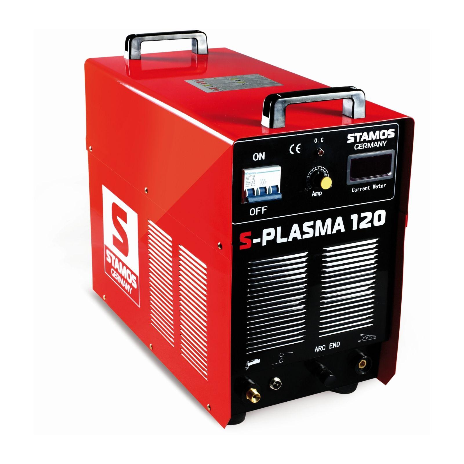 Stamos Basic Plasma cutter - 120 A - 400 V - Pilot ignition