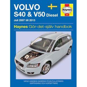 Haynes Volvo S40 & V50 (2008-2011) SV5698
